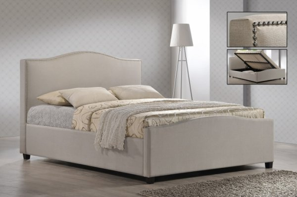 Time Living Brunswick Fabric Bed Frame
