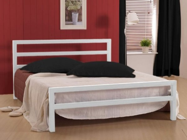Time Living City Block Metal Bed
