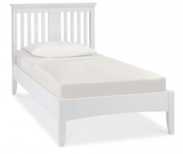 Bentley Designs Hampstead White Bed Frame