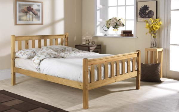Friendship Mill Shaker High Foot End Bed Frame