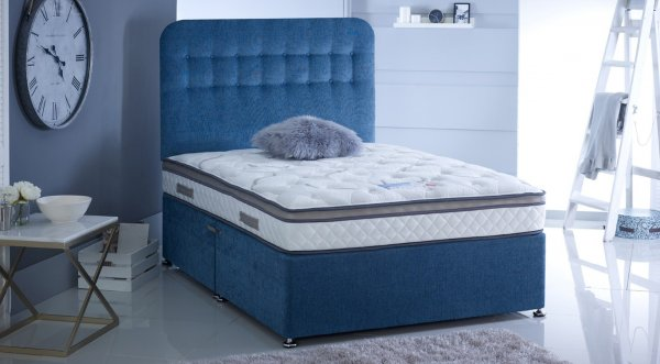 5' (King) Baker & Wells Majestic Mattress (1000 Encapsulated Pocket Springs, Cool Gel Memory Foam)