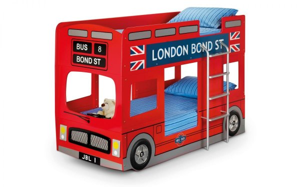 Julian Bowen London Bus Kids Bed
