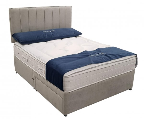 King Size Sleepeezee 'Cooler Supreme' with FREE DRAWERS