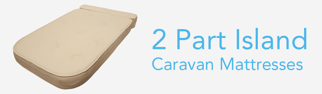 Island with Bolster Caravan Mattresses