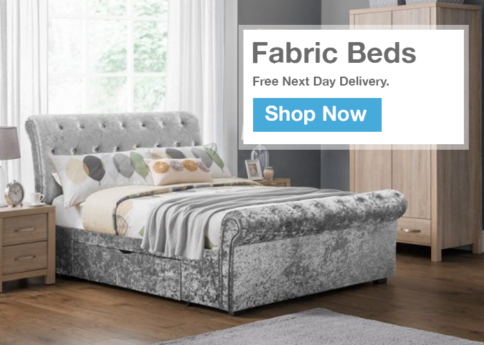 Fabric Beds - Next Day Delivery