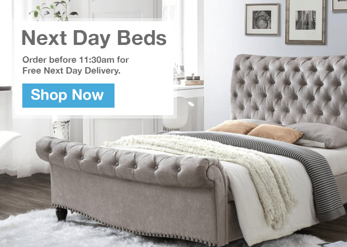 Next Day Delivery Beds to Berwick-Upon-Tweed