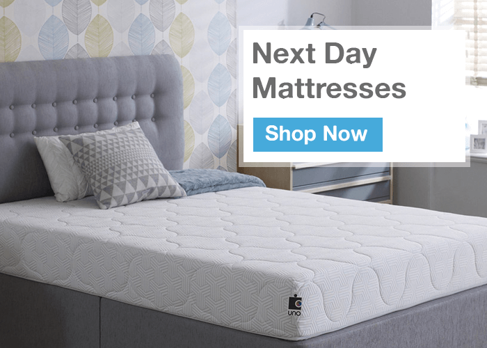 Next Day Delivery Mattresses to Brighton and Hove
