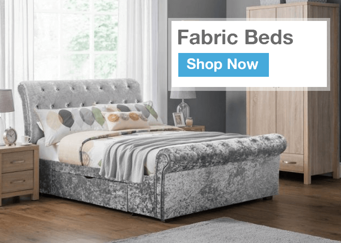 Fabric Beds Knotty Ash