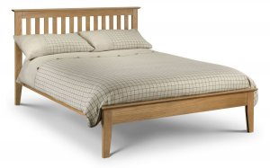 Julian Bowen Salerno Solid Oak Bed