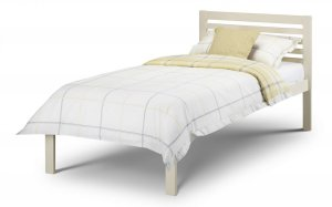 Julian Bowen Slocum White Wooden Bed Frame