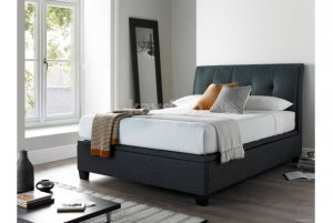 Kaydian Accent Ottoman Storage Fabric Bed Frame