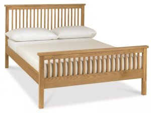 Bentley Designs Atlanta High Foot Oak Bed Frame
