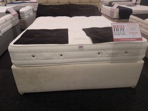 King Size Millbrook Cotton 1400 Divan Bed *Display Model*