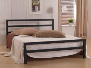 Time Living City Block Metal Bed Frame