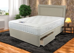 Sleepeezee Cool Sensations 1400 Divan Set
