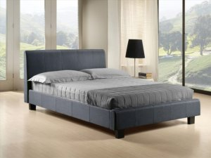 Time Living Hamburg Fabric Bed Frame