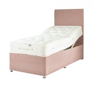Millbrook Echo Natural 1200 Adjustable Divan Bed
