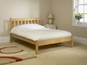Friendship Mill Shaker Low Foot End Bed Frame