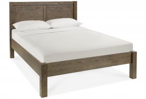 Bentley Designs Turin Dark Oak Panel Low Footend Bed Frame