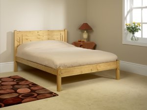 Friendship Mill Vegas Low Foot Bed Frame