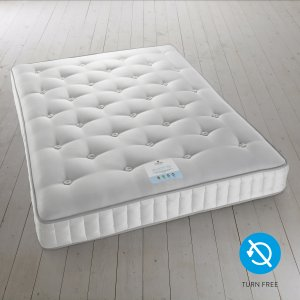 5' (KING) Harrison Spinks Velocity 4250 Turn Free Mattress (Cotton, Wool, Vicose & Ecotec Fibre)