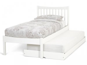Serene Alice Opal White Guest Bed