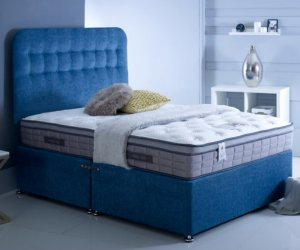 6' (Super King) Baker & Wells Sovereign Mattress (2500 Encapsulated Pocket Springs, Cool Gel Infused Memory Foam)
