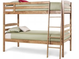 Serene Brooke Honey Oak Bunk Bed