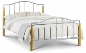 Julian Bowen Carmel Metal Bed Frame