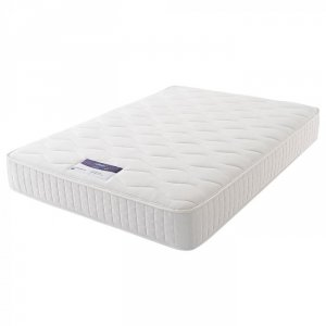 4FT 6 DOUBLE SILENTNIGHT CLASSIC VALUE MIRAPOCKET 1000 MATTRESS (COVER MAY VARY)