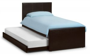 Julian Bowen Cosmo Faux Leather Guest Bed