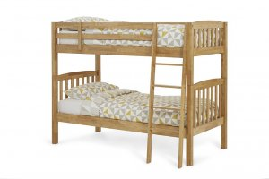 Serene Ella Honey Oak Bunk Bed