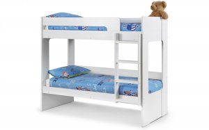 Julian Bowen Ellie White Wooden Bunk Bed