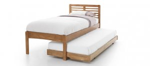 Serene Esther Honey Oak Guest Bed