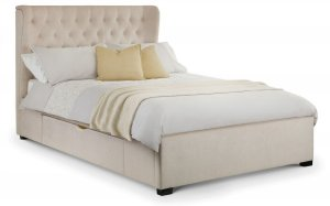 Julian Bowen Geneva Storage Fabric Bed Frame