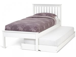 Serene Heather Opal White Guest Bed