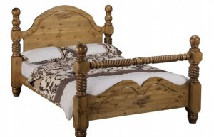 Windsor Beds Imperial Twist Rail Bed Frame