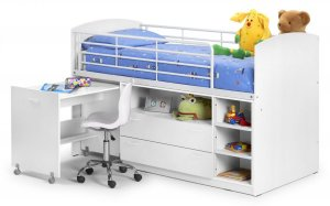 Julian Bowen Leo Sleeper Kids Bed Frame