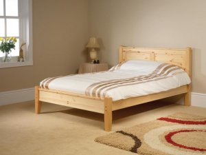Coniston Low Foot Custom Double Size Bed Frame