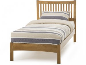 Serene Mya Honey Oak Bed