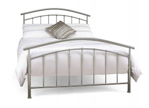 Serene Mercury Metal Bed Frame