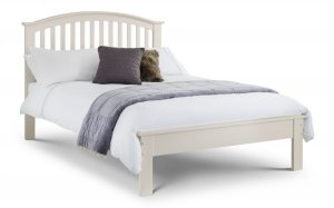 Julian Bowen Olivia White Wooden Bed Frame