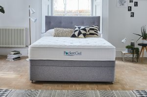 Sleepeezee Pocket Gel Balance 1200 Divan Set