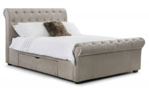 Julian Bowen Ravello Fabric Storage Bed Frame