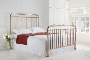 Time Living Rose Metal Bed Frame