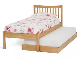 Serene Alice Honey Oak Guest Bed