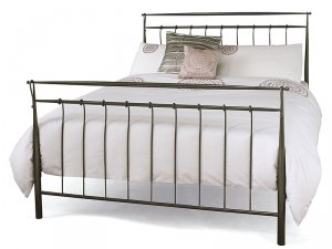 Serene Elizabeth Metal Bed