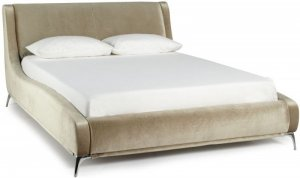 Serene Faye Fabric Bed Frame