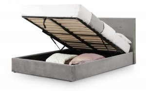 Julian Bowen Shoreditch Ottoman Fabric Bed