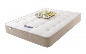 "4'6"" (Double) Silentnight Amsterdam Miracoil Ortho Mattress (No 'Roll Together')"